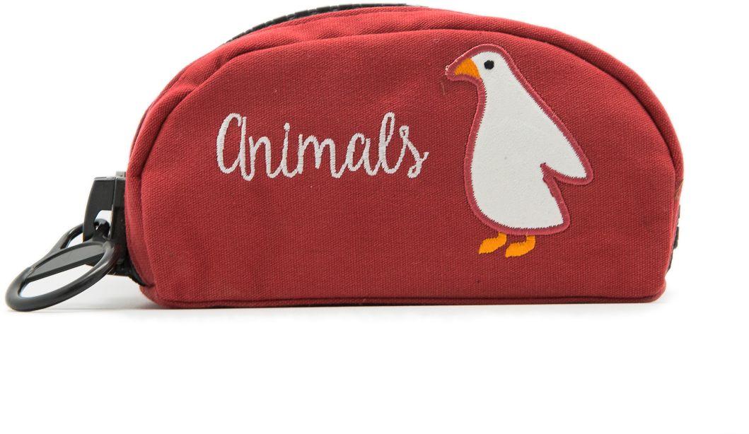 Еж-стайл Пенал Funny Animals He Is Goose0909403Пенал Еж-стайл, выполненный из льна, станет незаменимым аксессуаром, как для для школьников, так и для совсем маленьких деток. Модель отлично подойдет для хранения различных принадлежностей. В верхней части пенала расположена застежка-молния, которая не позволит содержимому потеряться.
