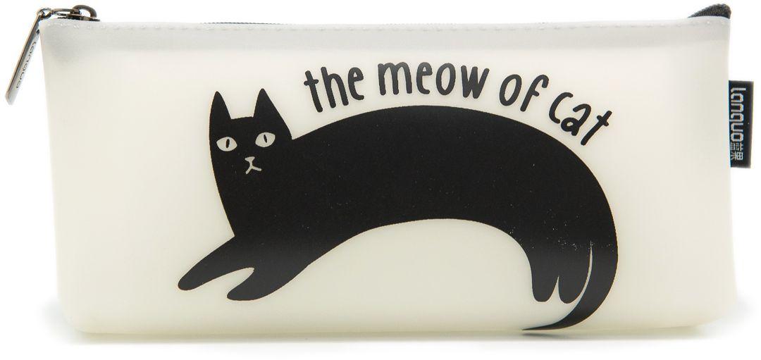 Еж-стайл Пенал The Meow Of Cat Черный кот дугой0909408