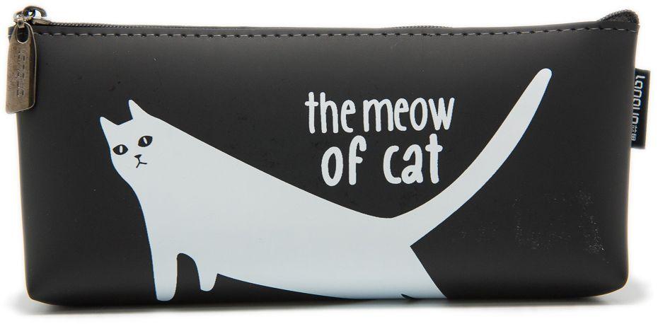 Еж-стайл Пенал The Meow Of Cat Белый кот тянется0909409