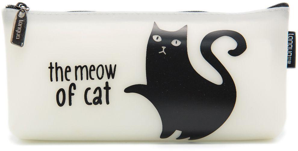 Еж-стайл Пенал The Meow Of Cat Черный кот лапа0909411Пенал Еж-стайл, выполненный из полиуретана, станет незаменимым аксессуаром, как для школьников, так и для совсем маленьких деток. Пенал украшен изображением кота. Модель отлично подойдет для хранения различных принадлежностей. В верхней части пенала расположена застежка-молния, которая не позволит содержимому потеряться.