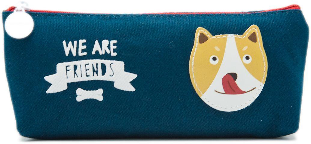 Еж-стайл Пенал We Are Friends цвет синий0909425