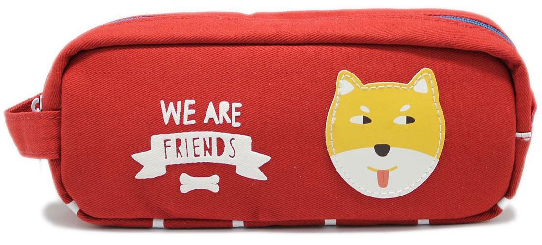 Еж-стайл Пенал-косметичка We Are Friends цвет красный0909428