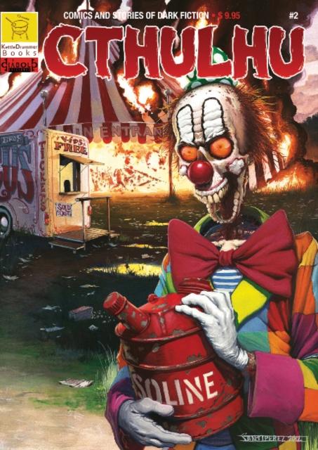 Cthulhu #2: Comics & Stories of Dark Fiction horror stories