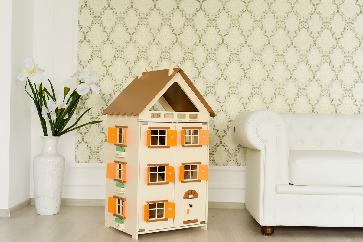 Gradss Вилла для кукол Апельсиновый пудинг дополнительный этаж для домика смоланд