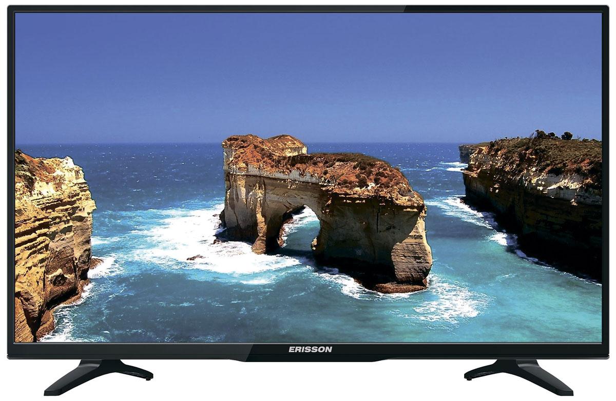Erisson 32LEA20T2 Smart телевизор90000005392Телевизор Erisson 32LEA20T2 успешно совмещает в себе все функции, присущие полноценному развлекательномумедиацентру. Обладая большим набором интерфейсов, он с легкостью может взаимодействовать с любыми информационными носителями, включая просмотр ваших любимых фильмов в формате HD напрямую с USB флэшки. Smart-телевизор Erisson откроет для вас новый мир, объединяющий сотни и тысячи телеканалов, интернет- серфинг и вселенные онлайн-игр. Загружайте любимые фильмы, делитесь своими лучшими фотографиями ивидеозаписями в социальных сетях, слушайте музыку и узнавайте интересующие вас новости с помощьюудобных предустановленных приложений.Тюнер DVB-T/T2/C позволяет без дополнительного оборудования смотреть телеканалы в цифровом качестве безпомех. Стильный корпус легко впишется в любой интерьер, а специальная возможность крепления телевизора настену позволит разместить устройство с максимальным удобством.