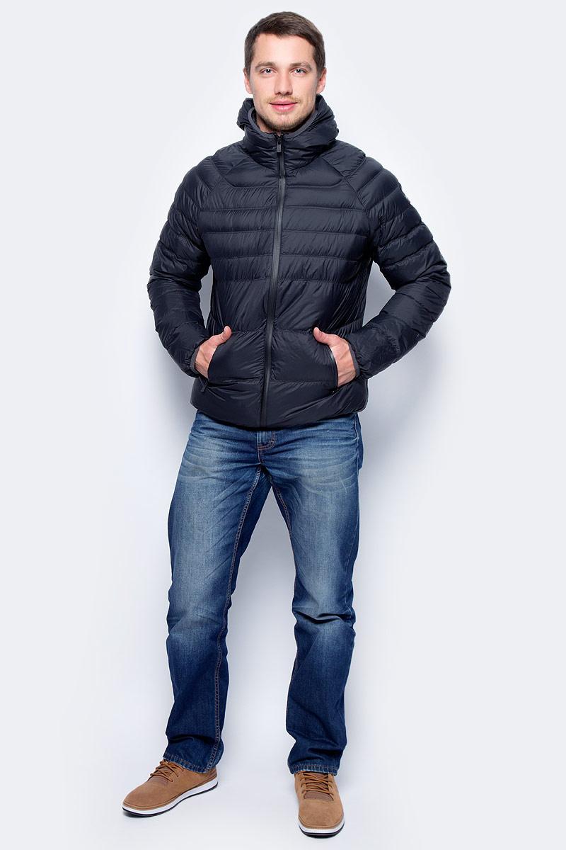 Пуховик мужской Pajar Micheal, цвет: черный. P6N407F6CI. Размер L (50)P6N407F6CIМужской пуховик Pajar с длинными рукавами и капюшоном выполнен из нейлона. Пуховик застегивается на застежку-молнию.