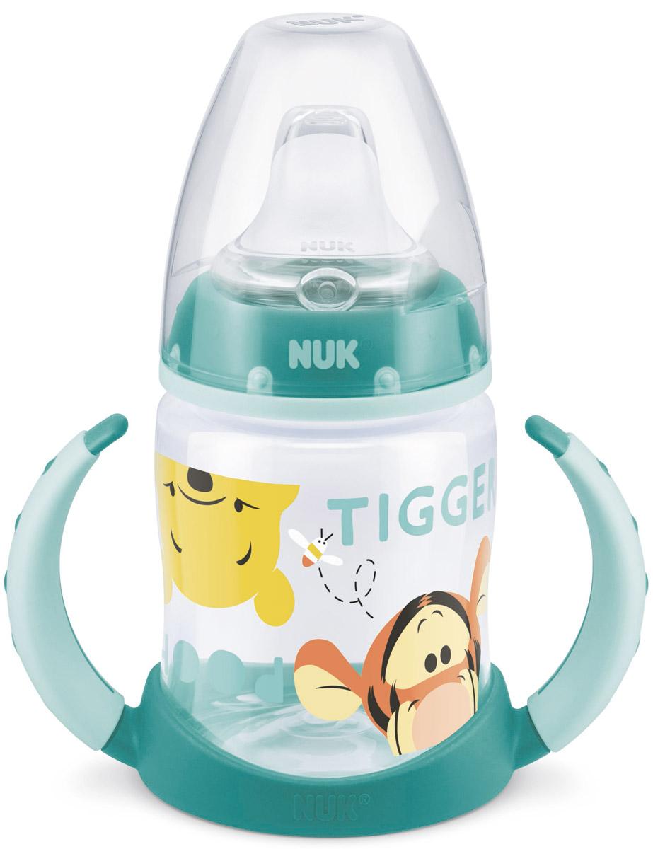 NUK Бутылочка-поильник First Choice с силиконовым носиком от 6 до 18 месяцев цвет мятный 150 мл