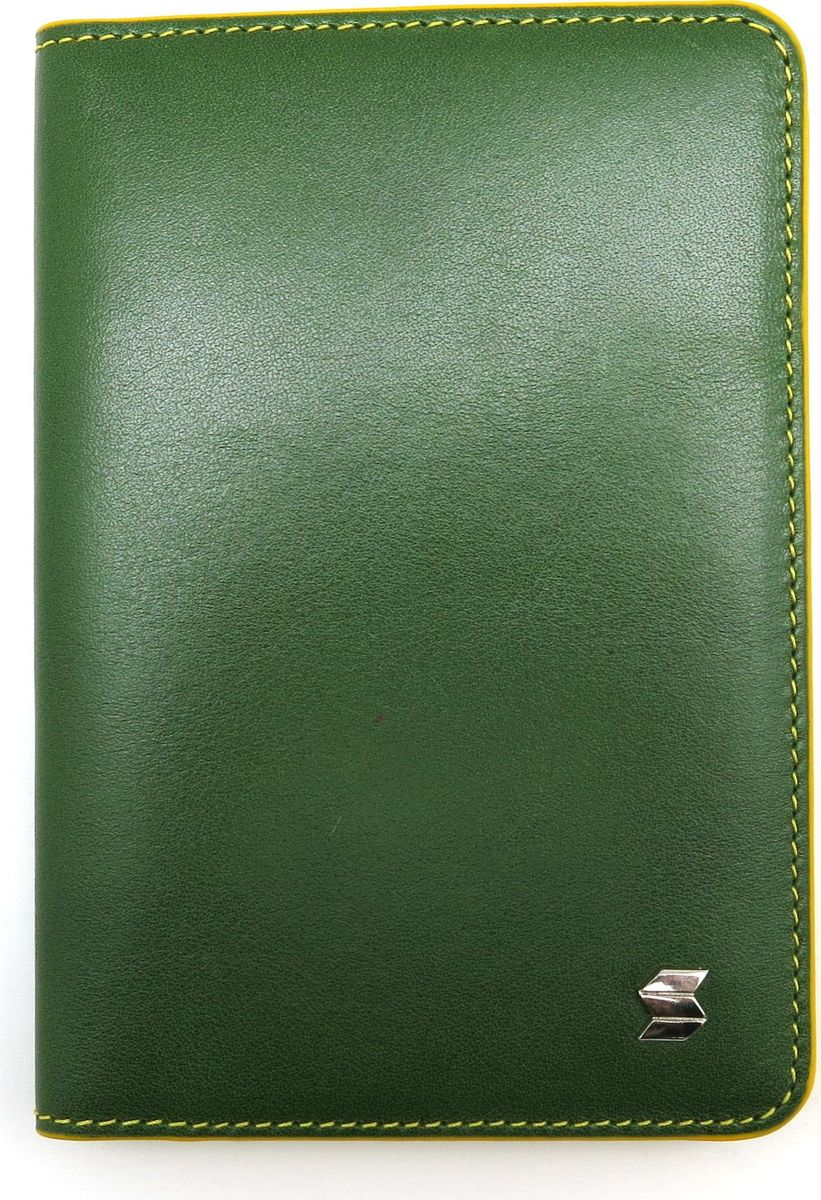Обложка для автодокументов женская Soltan, цвет: зеленый, желтый. 052 11 06/08052 11 06/08Обложка для автодокументов SOLTAN из натуральной кожи выполнена в ярком сочетании двух цветов - зеленого и желтого. Внутри 7 кармашков для карт, окошко с прозрачной сеточкой, файлы для документов.