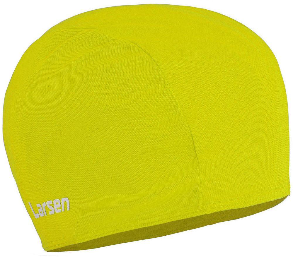 Шапочка для плавания детская Larsen, цвет: желтый236371Шапочка для плавания Larsen выполнена из полиэстера. Шапочка обеспечивает плотное прилегание и полную защиту от попадания воды. Отлично подойдет для тренировок в бассейне.Размеры: 21 х 17 см.