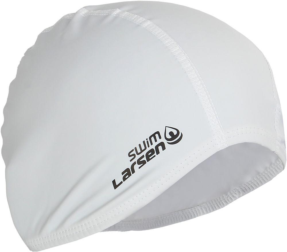 Шапочка для плавания Larsen, цвет: белый339701Шапочка для плавания Larsen выполнена из эластана с латексным покрытием. Шапочка обеспечивает плотное прилегание и полную защиту от попадания воды. Отлично подойдет для тренировок в бассейне.