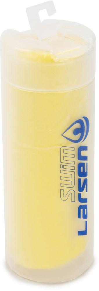 Полотенце спортивное Larsen, цвет: желтый, 33 х 43 см345025Полотенце спортивное Larsen выполнено из поливинилацетата. Полотенце упаковано в пластиковый тубус.