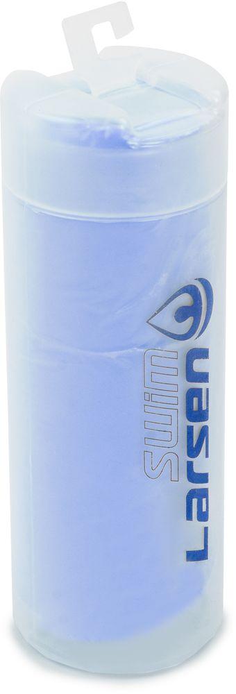 Полотенце спортивное Larsen, цвет: синий, 33 х 43 см345027Полотенце спортивное Larsen выполнено из поливинилацетата. Полотенце упаковано в пластиковый тубус.