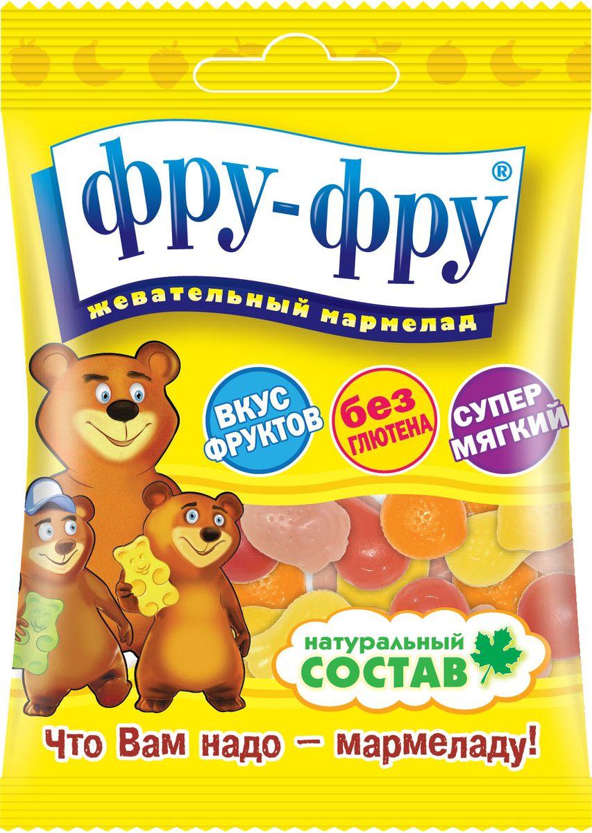 Фру-Фру Тропические фрукты жевательный мармелад, 30 г фру фру маша и медведь буквы жевательный мармелад 100 г