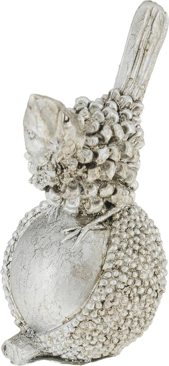 Фигурка декоративная Magic Home Птичка, цвет: бронзовый, 4 х 10 х 5 см цена