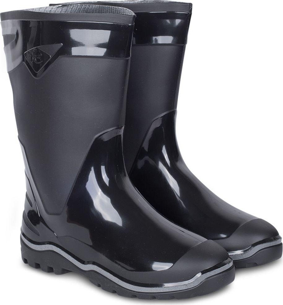 Сапоги мужские Дюна, цвет: черный. 146-901. Размер 43146-901-43Сапоги мужские Дюна из материала ПВХ, изготовленные по технологии трехкомпонентного литья. Модель обладает высокой эластичностью, дополнительными амортизирующими свойствами, защищает от промокания. Отличная обувь с широким спектром применения.