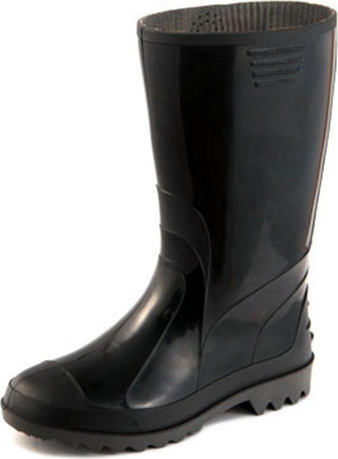 Сапоги рабочие мужские Дюна, цвет: черный. 170-901. Размер 41170-901-41Сапоги мужские из материала ПВХ, изготовленные по технологии двухкомпонентного литья. Модель обладает высокой эластичностью даже при минусовой температуре, защищает от промокания. Отличная обувь с широким спектром применения.
