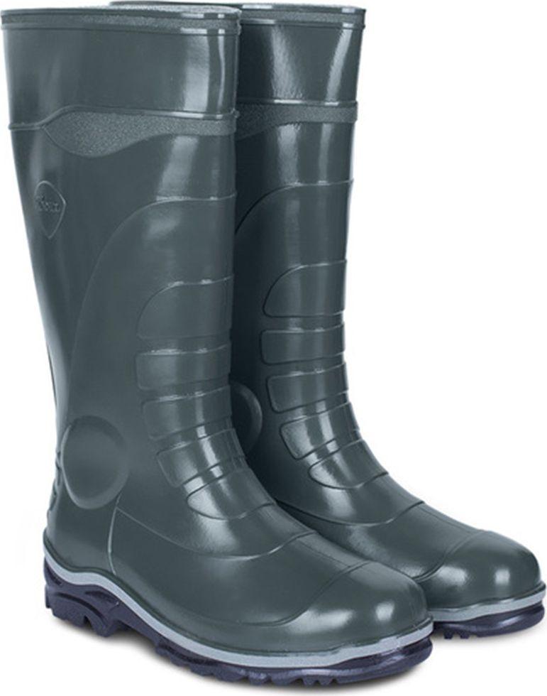 Сапоги рабочие мужские Дюна, цвет: оливковый. 172-516. Размер 41172-516-41Сапоги мужские из материала ПВХ, изготовленные по технологии трехкомпонентного литья. Модель обладает высокой эластичностью, дополнительными амортизирующими свойствами, защищает от промокания. Идеальная обувь как для повседневной носки, так и для защиты ног от промышленных загрязнений.