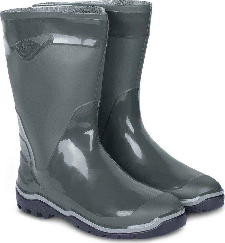Cапоги резиновые мужские Дюна, цвет: оливковый. 146-516. Размер 46146-516-46Сапоги мужские из материала ПВХ, изготовленные по технологии трехкомпонентного литья. Модель обладает высокой эластичностью, дополнительными амортизирующими свойствами, защищает от промокания. Отличная обувь с широким спектром применения.