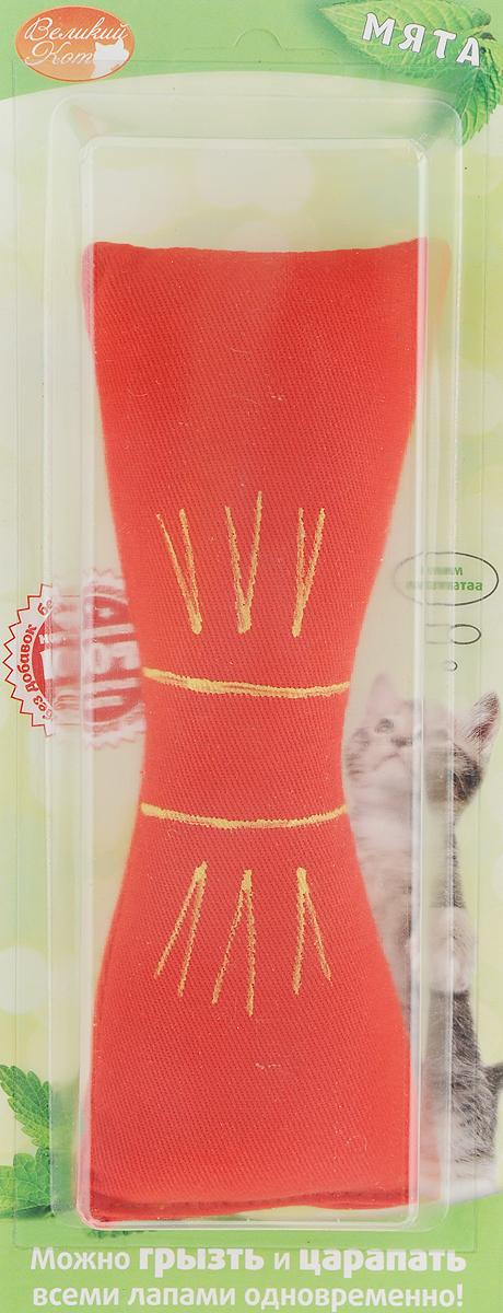 Игрушка для кошек Smart Textile Бантик, декорированный, цвет: красный, 18 см игрушки для животных smart textile игрушка для кошек сахарная косточка 100
