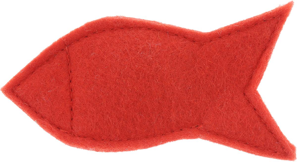 Игрушка для кошек Smart Textile Мини Рыбка, с кошачьей мятой, цвет: красныйGC331Игрушка для кошек Smart Textile Мини Рыбка изготовлена из фетра и выполнена в виде рыбки. Наполнение игрушки состоит из 100% натуральной кошачьей мяты, которая заинтересует и успокоит питомца, тем самым даст возможность комфортно перенести дорогу или переезд.Миниатюрный размер игрушки позволит взять ее в любую поездку. Размеры: 9 х 5 х 1 см.
