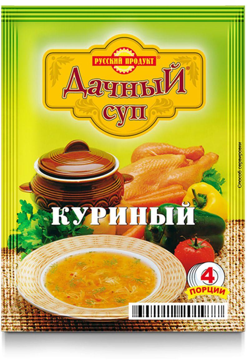 Русский продукт Суп куриный, 25 шт 60 г