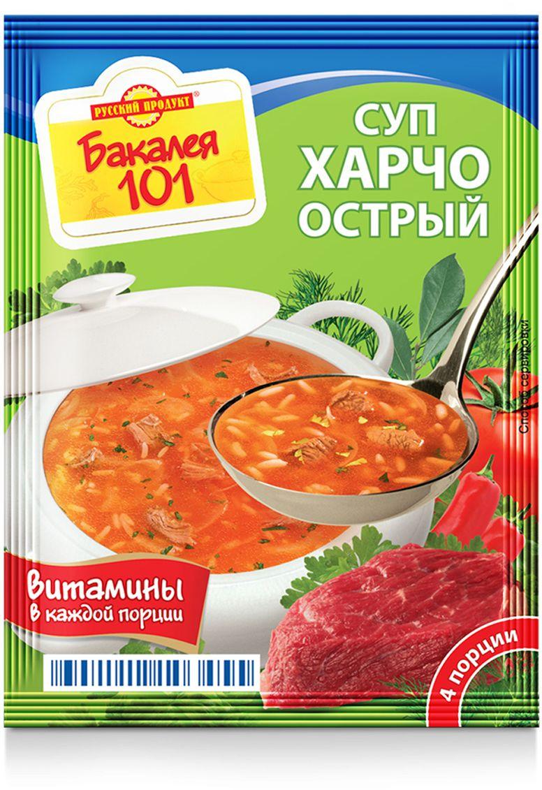 Русский продукт Суп харчо острый, 25 шт 60 г