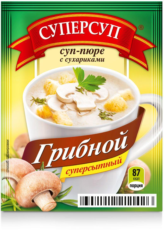 Русский продукт Суперсуп грибной суп-пюре с сухариками, 20 шт по 23 г2000290Способ приготовления: содержимое пакетика высыпьте в кружку, залейте 200мл кипятка, тщательно размешайте, подождите 1-2 минуты.