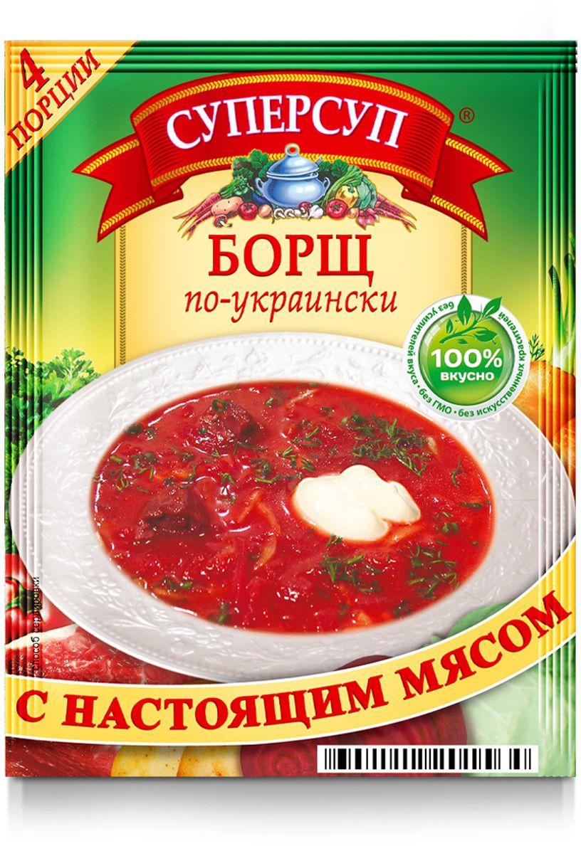 Русский продукт Суперсуп борщ по-украински, 70 г
