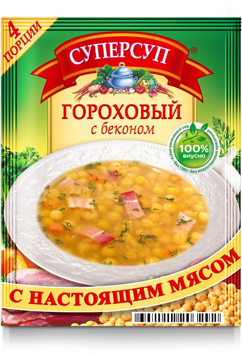 Русский продукт Суперсуп гороховый с беконом, 70 г