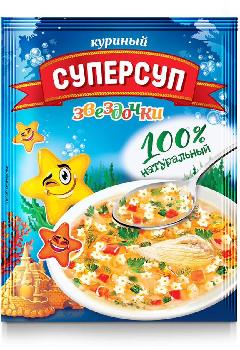Русский продукт Куриный суперсуп звездочки, 70 г