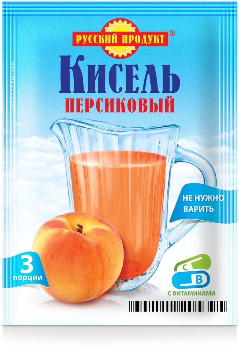 Русский продукт Кисель персиковый, 18 шт по 90 г