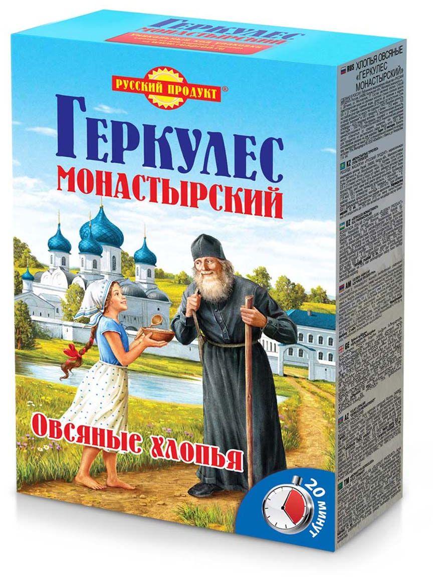 Русский продукт геркулес монастырский, 500 г helsinki mills хлопья органические helsinki mills овсяные крупные геркулес 400 г