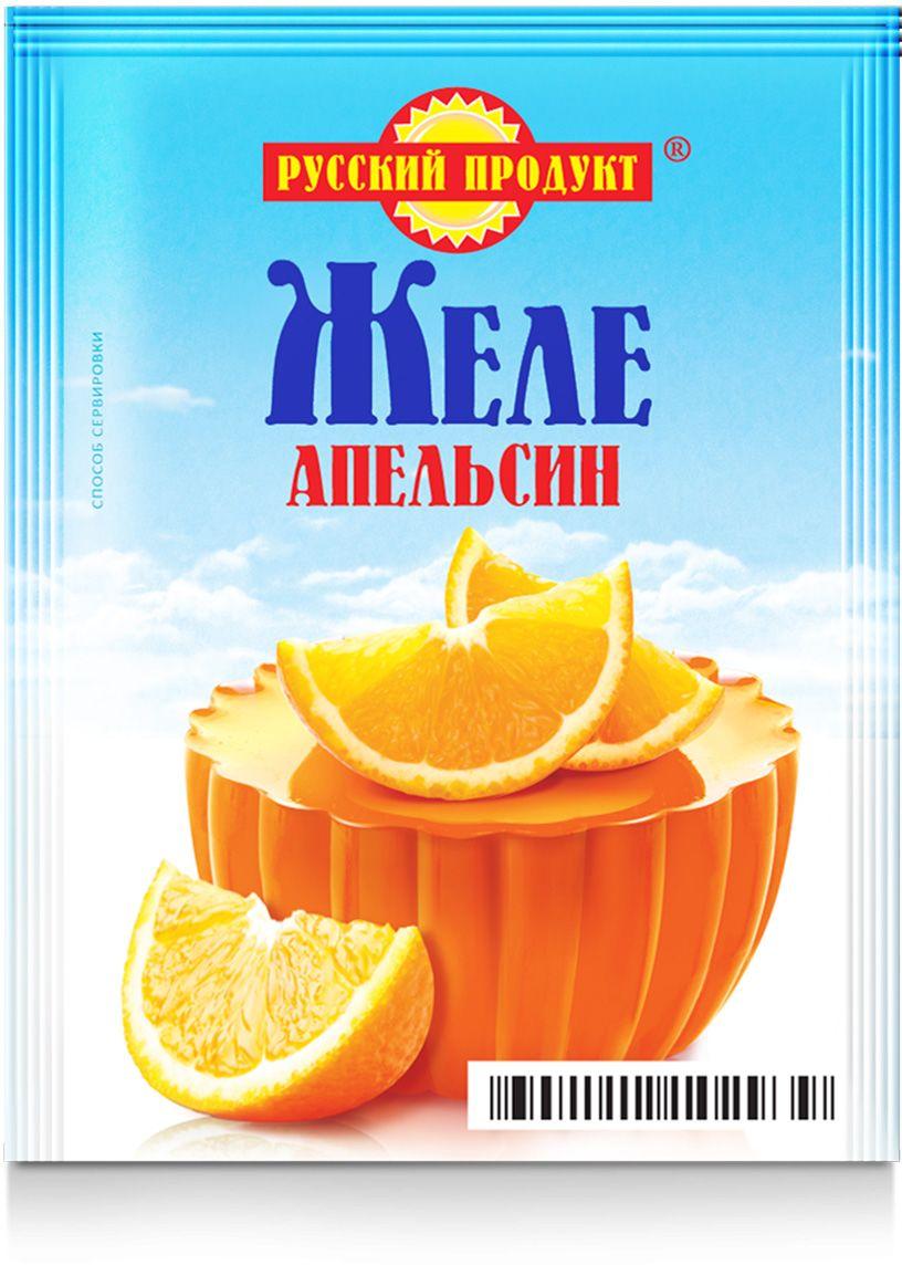 Русский продукт Желе апельсин, 35 шт по 50 г2119232Способ приготовления: содержимое пакета растворить при непрерывном помешивании в 0,2 л (1 стакан) горячей кипяченой воды. Залить в подготовленные формы и поставить в холодное место до образования желе. Чтобы выложить желе, опустить форму на несколько секунд в теплую воду.