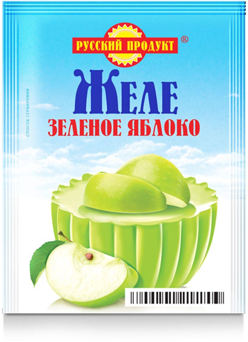 Русский продукт Желе зеленое яблоко, 35 шт по 50 г2119234Способ приготовления: содержимое пакета растворить при непрерывном помешивании в 0,2 л (1 стакан) горячей кипяченой воды. Залить в подготовленные формы и поставить в холодное место до образования желе. Чтобы выложить желе, опустить форму на несколько секунд в теплую воду.