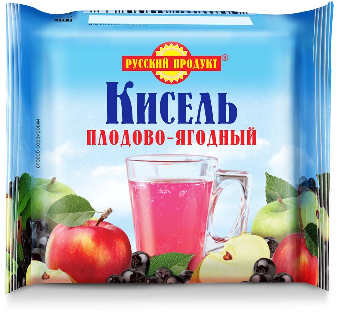 Русский продукт Кисель плодово-ягодный, 220 г