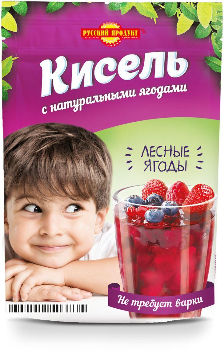 Русский продукт Кисель лесные ягоды, моментального приготовления, 150 г