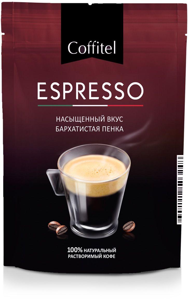 Coffitel Espresso кофе растворимый, 70 г maximus brazil кофе растворимый 70 г