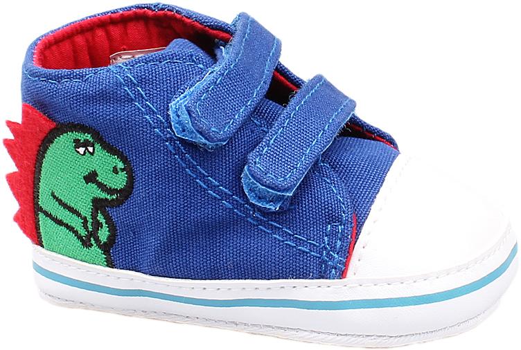 Пинетки детские Котофей, цвет: синий. 001034-11. Размер 16