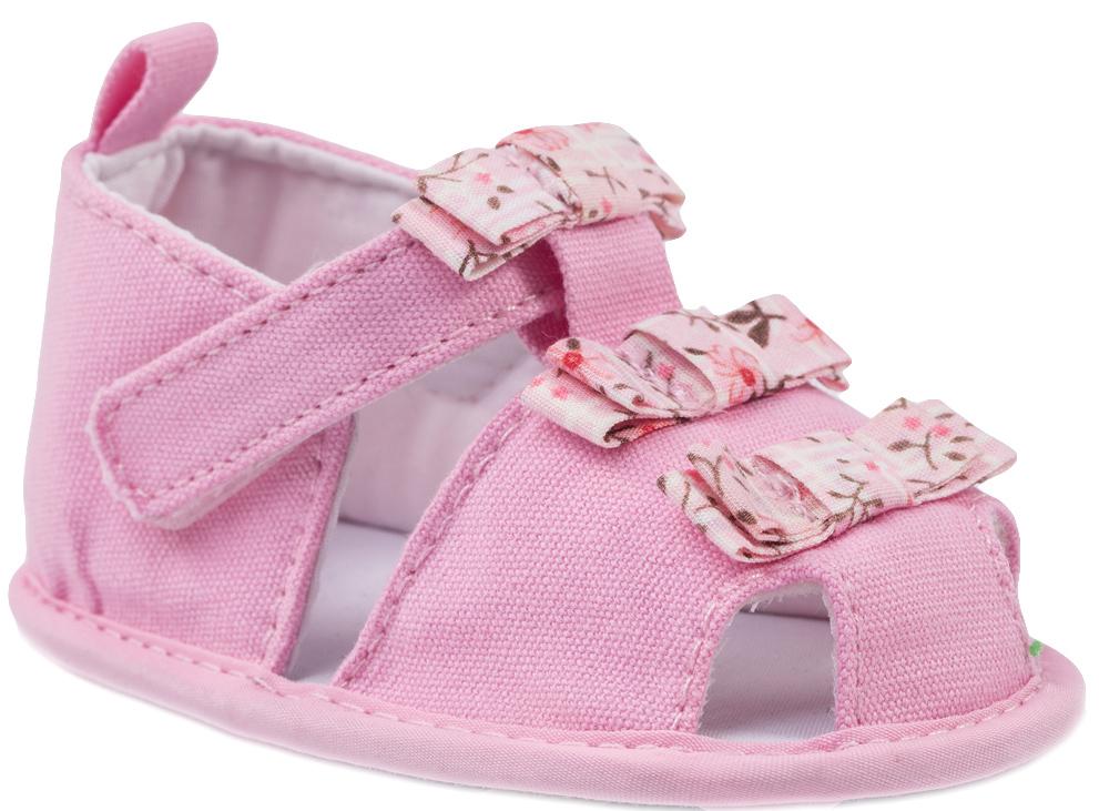Пинетки детские Котофей, цвет: розовый. 001047-11. Размер 19001047-11