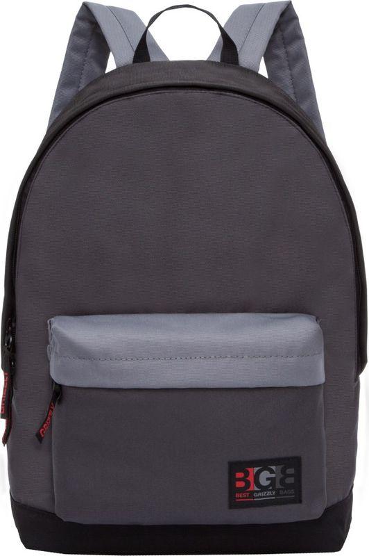 Рюкзак молодежный Grizzly, 17 л. RL-850-1/1RL-850-1/1Рюкзак молодежный Grizzly - лаконичная и очень удобная модель, в которую поместится все: школьные принадлежности и завтрак, одежда и многое другое. Рюкзак, выполненный из полиэстера, имеет одно отделение, объемный карман на молнии на передней стенке, внутренний карман для электронных устройств. Благодаря текстильной ручке рюкзак можно повесить, а подвесная система позволяет регулировать лямки и тем самым адаптировать изделие под рост владельца.