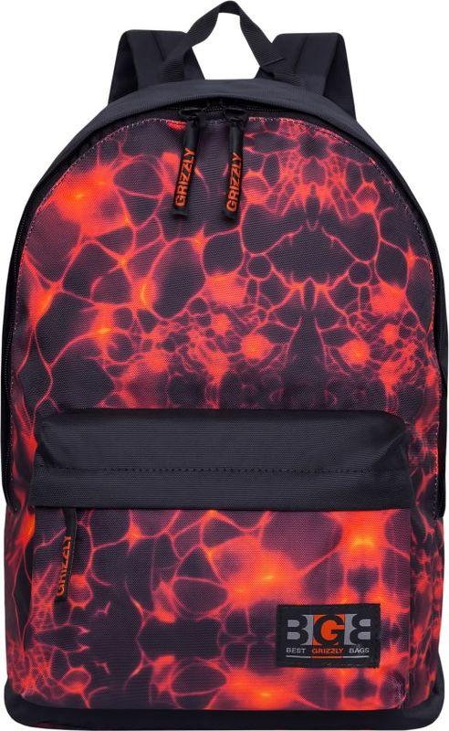 Рюкзак молодежный Grizzly, 17 л. RL-850-2/2RL-850-2/2Рюкзак молодежный Grizzly - лаконичная и очень удобная модель, в которую поместится все: школьные принадлежности и завтрак, одежда и многое другое. Рюкзак, выполненный из полиэстера, имеет одно отделение, объемный карман на молнии на передней стенке, внутренний карман для электронных устройств. Благодаря текстильной ручке рюкзак можно повесить, а подвесная система позволяет регулировать лямки и тем самым адаптировать изделие под рост владельца.
