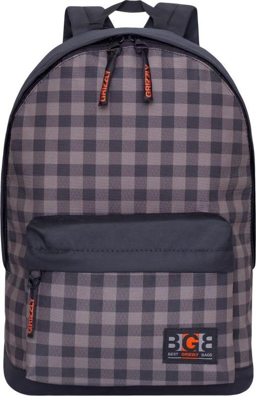 Рюкзак молодежный Grizzly, 17 л. RL-850-2/3RL-850-2/3Рюкзак молодежный Grizzly - лаконичная и очень удобная модель, в которую поместится все: школьные принадлежности и завтрак, одежда и многое другое. Рюкзак, выполненный из полиэстера, имеет одно отделение, объемный карман на молнии на передней стенке, внутренний карман для электронных устройств. Благодаря текстильной ручке рюкзак можно повесить, а подвесная система позволяет регулировать лямки и тем самым адаптировать изделие под рост владельца.