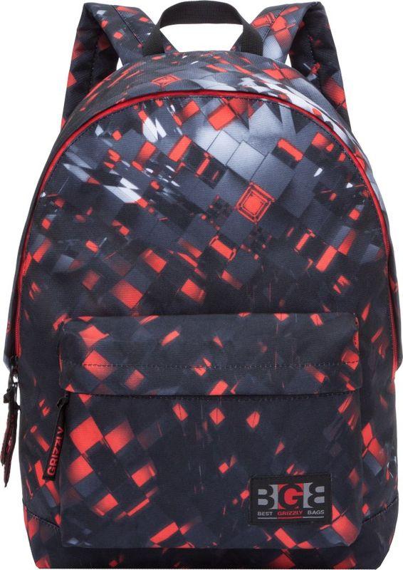 Рюкзак молодежный Grizzly, 15,5 л. RL-850-4/2RL-850-4/2Рюкзак молодежный Grizzly - лаконичная и очень удобная модель, в которую поместится все: школьные принадлежности и завтрак, одежда и многое другое. Рюкзак, выполненный из полиэстера, имеет одно отделение, объемный карман на молнии на передней стенке, внутренний карман для электронных устройств. Благодаря текстильной ручке рюкзак можно повесить, а подвесная система позволяет регулировать лямки и тем самым адаптировать изделие под рост владельца.
