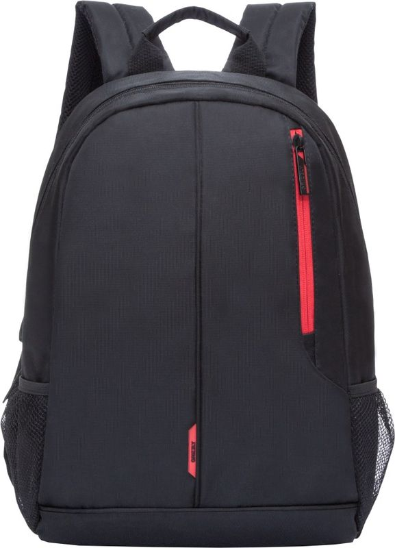Рюкзак молодежный Grizzly, 15,5 л. RL-852-1/1RL-852-1/1Рюкзак молодежный Grizzly - лаконичная и очень удобная модель, в которую поместится все: школьные принадлежности и завтрак, одежда и многое другое. Рюкзак, выполненный из нейлона, имеет одно отделение, карман на молнии на передней стенке, боковые карманы из сетки, внутренний карман для электронных устройств, мягкая спинка, карман быстрого доступа на задней стенке. Благодаря текстильной ручке рюкзак можно повесить, а подвесная система позволяет регулировать лямки и тем самым адаптировать изделие под рост владельца.