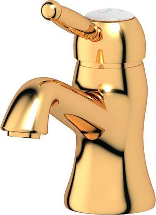 Смеситель для раковины Ponsi Stilmar, цвет: золотистый. PON 251/M...AUPON 251/M...AUСтиль Ponsi является результатом сочетания вековых традиций и современных инноваций, поэтому вся продукция этой тосканской компании уникальна, добротна и хорошо продумана. Это философия, которая уже более 70 лет позволяет компании создавать продукты, совмещающие в себе элегантность, прочность и безукоризненный вкус. Все этапы производства от разработки дизайна до упаковки готовой продукции осуществляются на одном и том же заводе, поэтому качество продукции Ponsi безупречно. Особое внимание к деталям, тщательность исполнения, многообразие стилей – вот отличительные черты продукции Ponsi.Высококачественная латунь — дорогостоящий многокомпонентный медный сплав с основным легирующим элементом – цинком. Обладает высокой прочностью и коррозионной стойкостью. Считается лучшим материалом для изготовления аксессуаров, смесителей и другого сантехнического оборудования.Сделано из латуни. Латунь, используемая в производстве аксессуаров, обладает высокой прочностью и коррозионной стойкостью, и считается лучшим материалом для изготовления аксессуаров.Фарфор. Декоративные части смесителей, изготовленные из фарфора, удачно сочетаются с аксессуарами коллекции STILMAR.Произведено в Италии. Весь технологический цикл производства осуществляется на территории Италии.Предмет покрыт золотом 999 пробы