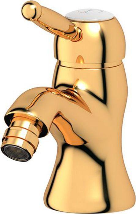 Смеситель для биде Ponsi Stilmar, цвет: золотистый. PON 253/M...AUPON 253/M...AUСтиль Ponsi является результатом сочетания вековых традиций и современных инноваций, поэтому вся продукция этой тосканской компании уникальна, добротна и хорошо продумана. Это философия, которая уже более 70 лет позволяет компании создавать продукты, совмещающие в себе элегантность, прочность и безукоризненный вкус. Все этапы производства от разработки дизайна до упаковки готовой продукции осуществляются на одном и том же заводе, поэтому качество продукции Ponsi безупречно. Особое внимание к деталям, тщательность исполнения, многообразие стилей – вот отличительные черты продукции Ponsi.Высококачественная латунь — дорогостоящий многокомпонентный медный сплав с основным легирующим элементом – цинком. Обладает высокой прочностью и коррозионной стойкостью. Считается лучшим материалом для изготовления аксессуаров, смесителей и другого сантехнического оборудования.Сделано из латуни. Латунь, используемая в производстве аксессуаров, обладает высокой прочностью и коррозионной стойкостью, и считается лучшим материалом для изготовления аксессуаров.Фарфор. Декоративные части смесителей, изготовленные из фарфора, удачно сочетаются с аксессуарами коллекции STILMAR.Произведено в Италии. Весь технологический цикл производства осуществляется на территории Италии.Предмет покрыт золотом 999 пробы