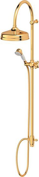 Душевая колонна Ponsi Stilmar, цвет: золотистый. PON CC25.AU колонна raffaello 1107881