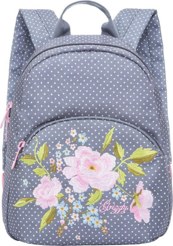 Рюкзак молодежный Grizzly, 7 л. RL-859-2/1RL-859-2/1Рюкзак молодежный Grizzly - лаконичная и очень удобная модель, в которую поместится все: школьные принадлежности и завтрак, одежда и многое другое. Рюкзак, выполненный из полиэстера, имеет одно отделение, объемный карман на молнии на передней стенке, внутренний подвесной карман на молнии. Благодаря текстильной ручке рюкзак можно повесить, а подвесная система позволяет регулировать лямки и тем самым адаптировать изделие под рост владельца.