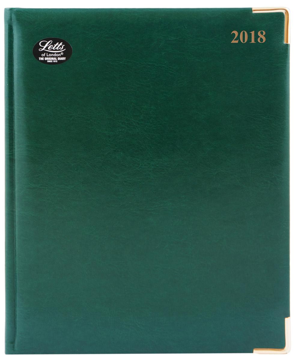 Letts Ежедневник Lexicon 2018 датированный 54 листа цвет зеленый формат A4 shakespeare lexicon