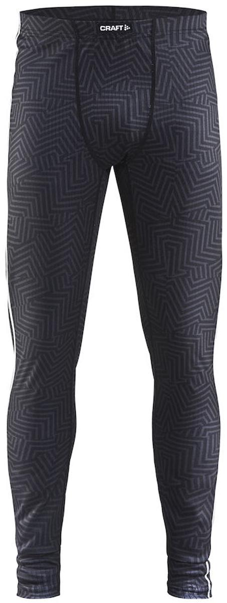 Кальсоны мужские Craft Mix & Match, цвет: черный. 1904511/9104. Размер S (46)1904511/9104Мужские термокальсоны Mix & Match выполнены из полиэстера. Материал обеспечивает оптимальную теплоизоляцию и влагоотвод. Плоские швы изделия расположены так, чтобы повторять движения тела. Кальсоны облегающего кроя с эластичным поясом хорошо сидят на любой фигуре и отлично тянутся.